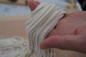 fresh hand cut udon