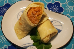 egg rice roll
