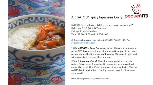 arigatou curry pick up June 2015