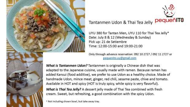 tantanmen pick up July 2015