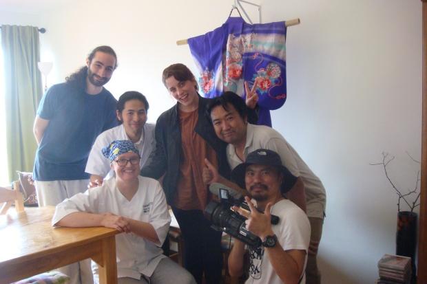 TV Tokyo director Shoji san with pequeñITO