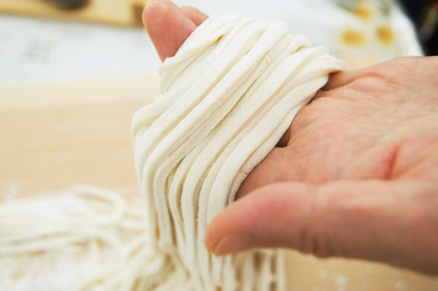 hand made Udon
